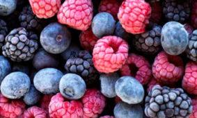 Frutos del bosque ultracongelados