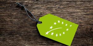 sello producto ecologico Union Europea