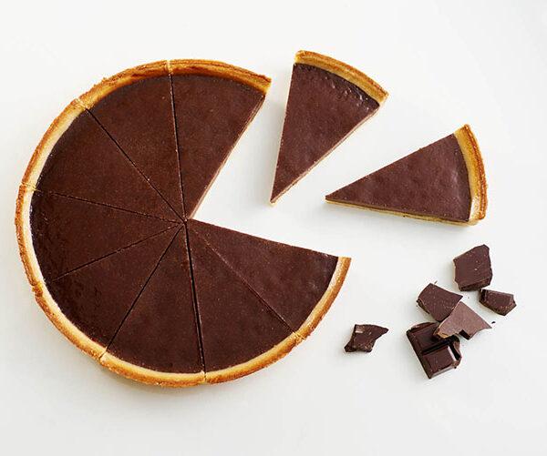 Tarta de chocolate tres delirium