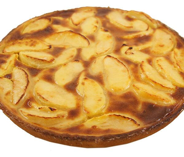 tarta normanda de manzana tres delirium