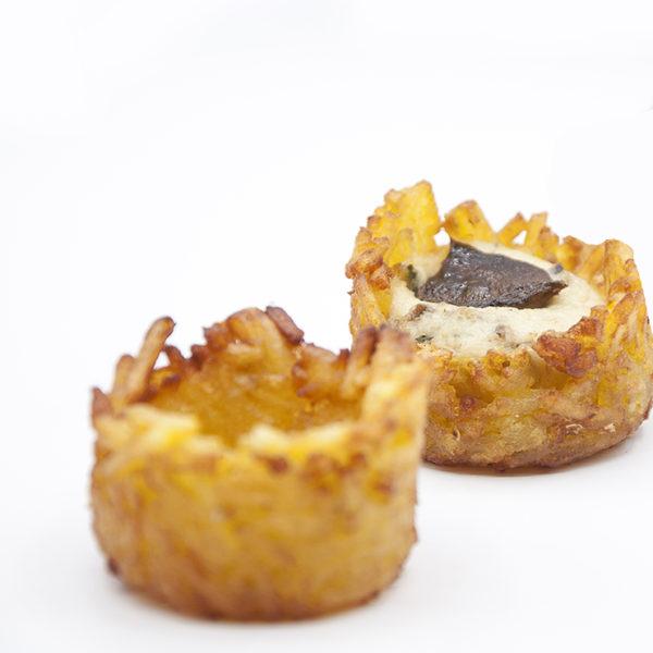 Cestillos de patatas fritas