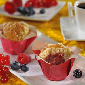 Mini Muffin frutos rojos