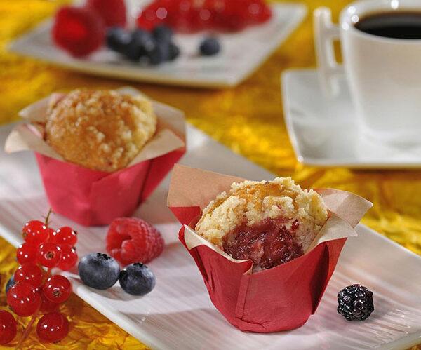 Mini Muffin frutos rojos